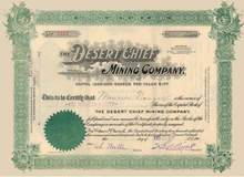 Desert Chief Mining Company 1907 - Goldfield, Nevada