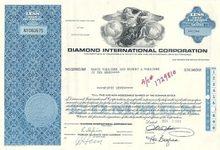 Diamond International Corp Stock Certificate