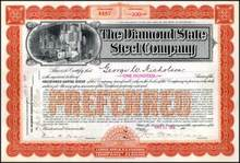 Diamond State Steel Company 1904 - Wilmington, Delaware