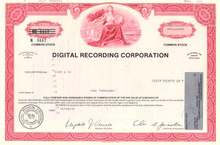 Digital Recording Corporation