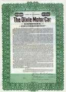 Dixie Motor Car Company 1911 - Gold Bond