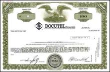 Docutel Corporation ( First company to develop Automated Teller Machines ATM's )