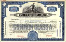 Dodge Brothers, Inc.