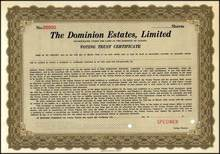 Dominion Estates, Limited - Canada