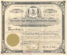 Double Eagle Mining and Development Company 1902 - British Columbia, Canada