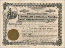 Downey Land & Improvement Association 1905 - California