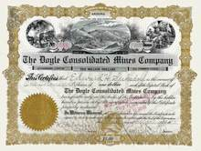 Doyle Consolidated Mines Company 1912 - Arizona