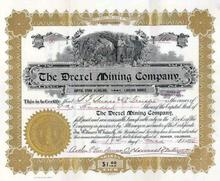 Drexel Mining Company 1896 - Cripple Creek, Colorado