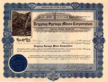 Dripping Springs Mines Corporation - Gila County, Arizona