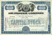 Dr. Pepper Company 1950