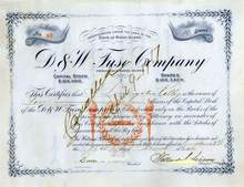 Early Fuse Company 1916
