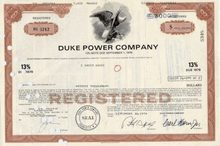 Duke Power Company Bond 13% Bond