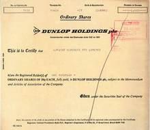 Dunlop Holdings - 1983