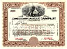 Duquesne Light Company - Pennsylvania 1928