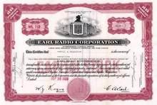Earl Radio Corporation - 1929