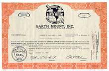Earth Mount, Inc. 1960's