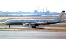 Eastern Airlines postcard DC8-21