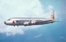 Eastern Airlines postcard Douglas DC-4