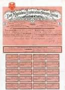 East Magdalena Exploitation Co Stock 1908