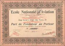 National School of Aviation 1911 - France - Early Airplane Images