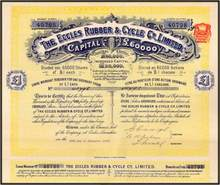 Eccles Rubber & Cycle Co., Limited 1898