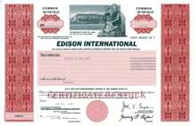 Edison International ( Parent Company of Southern California Edison )