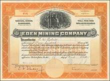 Eden Mining Company 1915