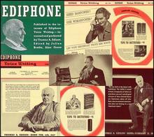 Ediphone Voice Writing Newsletters 1939 - 1945