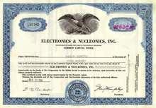 Electronics & Nucleonics, Inc. 1951 - 1952