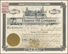 Eleanor Oil Company 1900 - Los Angeles, California