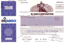 El Paso Corporation - Accused of manipulating gas supplies to drive up prices