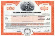 El Paso Natural Gas Company 15% Bond 1981