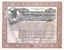 Electric Phonograph Corporation 1918 - Makers of the Phonolamp