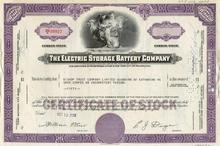 Electric Storage Battery Company