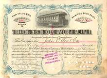 Electric Traction Company of Philadelphia 1895