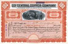 Ely Central Copper Company 1910 - Ely, Nevada