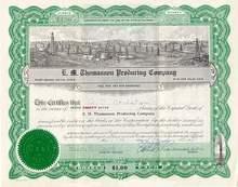 E.M. Thomasson Producing Oil Company 1938 - 1939