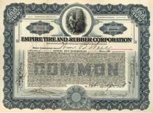 Empire Tire and Rubber Corporation 1918