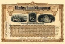 Ensley Land Company 1889 - Jefferson County, Alabama