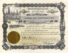 Engel Oil Corporation 1949