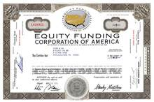 Equity Funding Corporation of America - Major Fraud of the 1970's