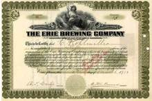 Erie Brewing Company - Pennsylvania 1900