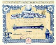 Ericsson Telephone Company - 1911
