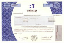 e-stamp The Internet Postage Company