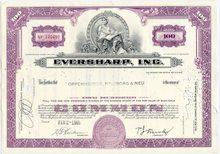 Eversharp Pen Company Stock Certificate
