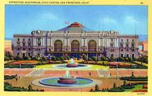 Exposition Auditorium, Civic Center - San Francisco, California