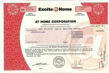 Excite@Home - At Home Corporation