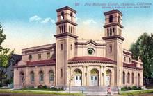 First Methodist Church, Alameda, California Postcard