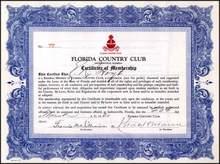 Florida Country Club 1930 - Jacksonville