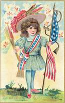 Fourth of July Greetings Postcard